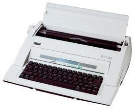 Nakajima WPT-160 Electronic Portable Typewriter with Display and Memory by Nakajima