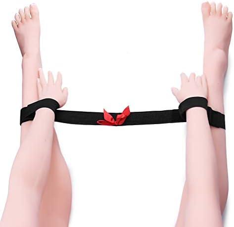 Healifty Erwachsene Handschellen Bettfesseln Beinfesseln Handgelenk- und Fußfesseln Bettfesseln Pärchenspielzeug