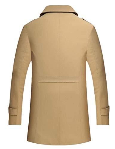 Capuche Vêtements Pour Kangqi Vestes Pois 1 Croisées À Hommes De 1XqTddwR