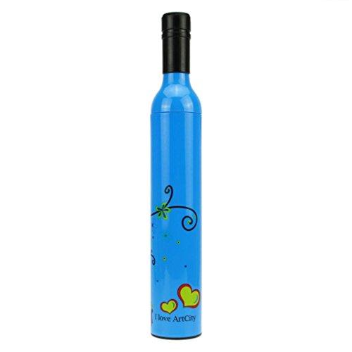 BXT UV Polyamide & Nylon Bottle Umbrella for Sunny and Rainy