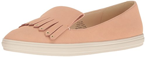 Nine West Women's Sendy Leather Walking Shoe Light Pink BPHwj3YN