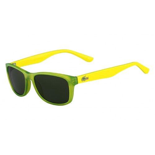 Lacoste Eyewear Rectangle Kids Sunglasses (Green ()