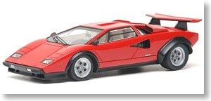 1/43 ランボルギーニカウンタック LP400 レッド(12連マフラー&ブラボーホイール) ジャパニーズ・モディファイドカー #1120214 EM162A