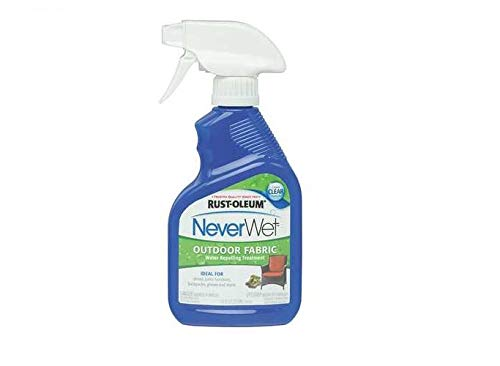 Rust-Oleum 278146 NeverWet 11-Ounce Outdoor Fabric Spray, Clear 2 Pack
