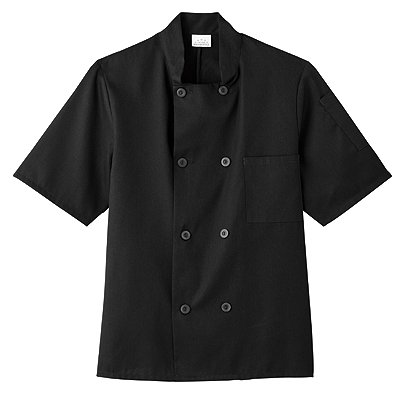 Five Star Chef Apparel Unisex Short Sleeve Chef Jacket (Assorted)
