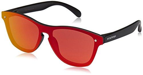 SUNPERS Sunglasses SU40003.4 Lunette de Soleil Mixte Adulte, Rouge