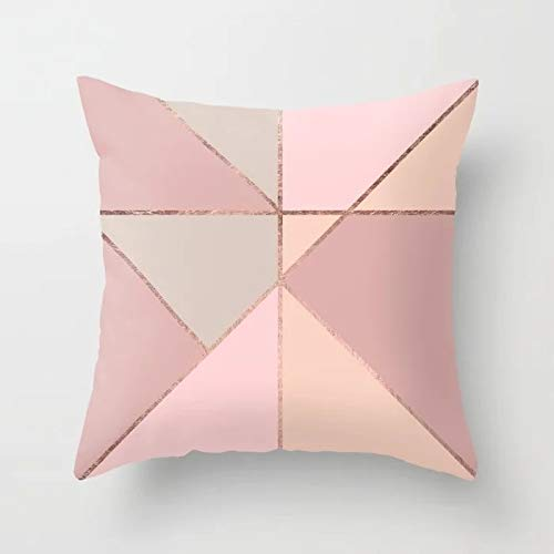 AHELUBZT Pink Throw Pillow Cushion Covers Carta decorativa ...