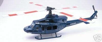 Bell 412 Lapd Police 1:48 New Ray Helicopter Diecast 25687 by (Bell 412)