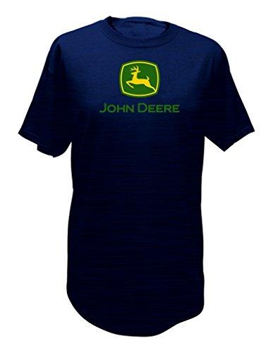 - John Deere Logo T-Shirt - Men's - Navy, Medium