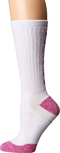 Converse Ultra Performance Crew Socks 1-Pack, White, One Size (Women's Shoe Size 9-11)