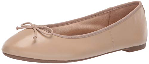Circus by Sam Edelman Women's Charlotte Ballet Flat, Classic Nude et Sheep Leather, 8.5 M US