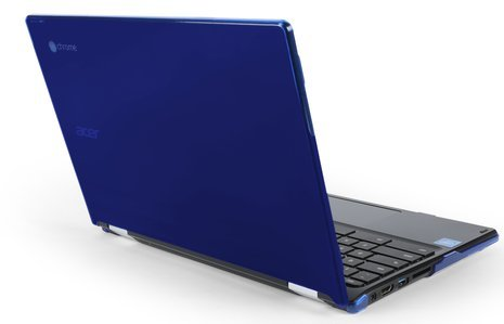 MAX Cases Snap Shell for ACER C738T/R11 Chromebook 11''- Protective Laptop Shell For All Edges, Corners & Other Vital Areas - Blue by Max Cases