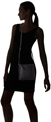 BREEToulouse 1 - Bolso bandolera Mujer Negro - Schwarz (black smooth 909)