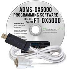 RT Systems ADMS-DX5000 Programming Software and USB-63 Cable for The Yaesu FT-DX5000