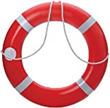Dock Edge 56-203-F, Dolphin Life Ring Buoy S.O.L.A.S. 30'', Orange USA 1/Case