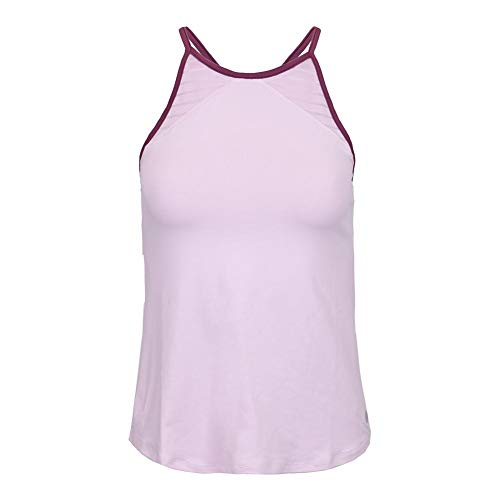 - Lija Women`s Loop Tennis Tank Whimsy and Dewberry Trim (Medium Whimsy and Dewberry Trim)