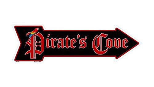 (Eletina Toy Outdoor Decor Pirates Cove Novelty Metal Arrow Sign A 150)