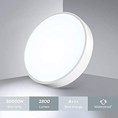Ultra-Thin LED Flush Mount Ceiling Light