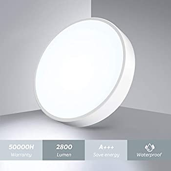 Amazon.com: OOWOLF 3200K LED Ceiling Light 25W 15 inch LED ...