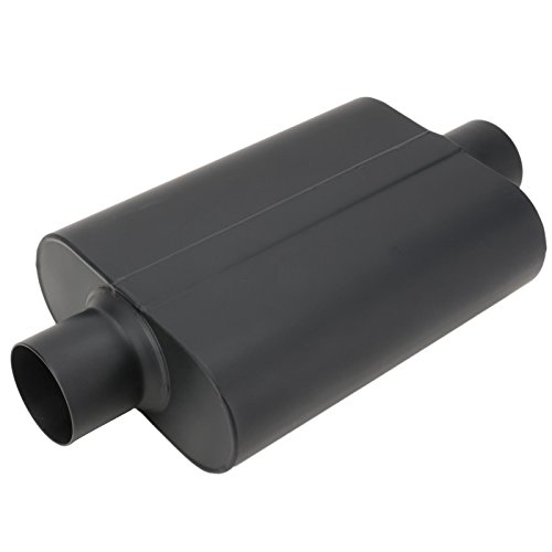 Welded Chamber Muffler, 3 Inch, Center Inlet/Center Outlet