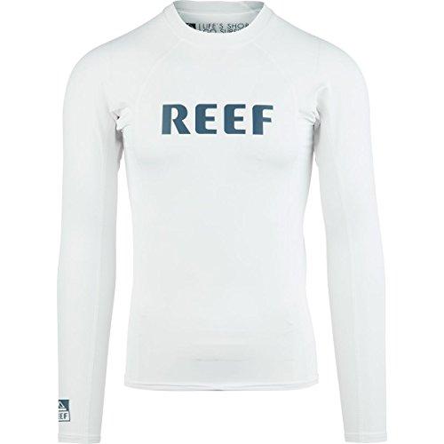 Reef Comp Rasher - Long-Sleeve - Men's White, L