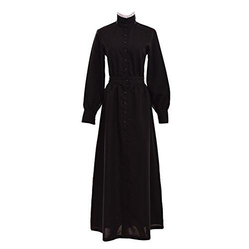 GRACEART Pioneer Woman Costume Prairie Dress