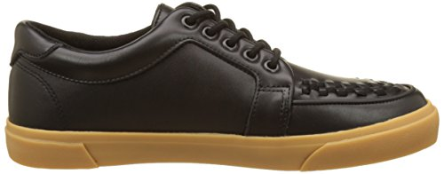 K T Creeper Sneaker Black Adulto Alta Gum U Zapatilla Noir Leather Leather Black VLK Unisex qr5wqIxtC