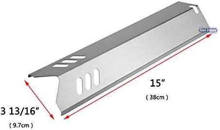 5x Gas Backyard Grill Heat Shield Plate  Burner Cover Parts GBC1460W