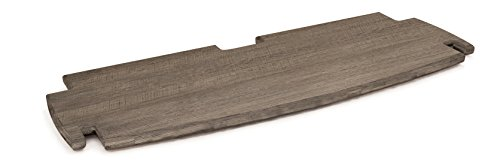 Tools Assembly 24-Inch by 17-Inch Deep Printer Shelf, Grey Driftwood ()