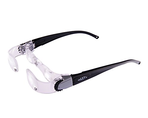 TV Magnifying Glasses 2.1X TV Glasses Distance Viewing Television Magnifying Goggles Magnifier Magnifying Glasses Headband Magnifier Headset Magnification Glasses Fishing Telescope Glasses (Tv Bench Glass)