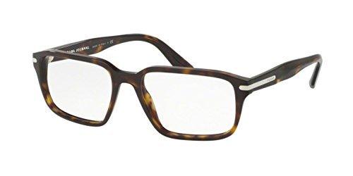 53328d302fb Prada PR 09TV Journal Glasses in Havana PR 09TV 2AU1O1 55 55 Clear   Amazon.co.uk  Clothing