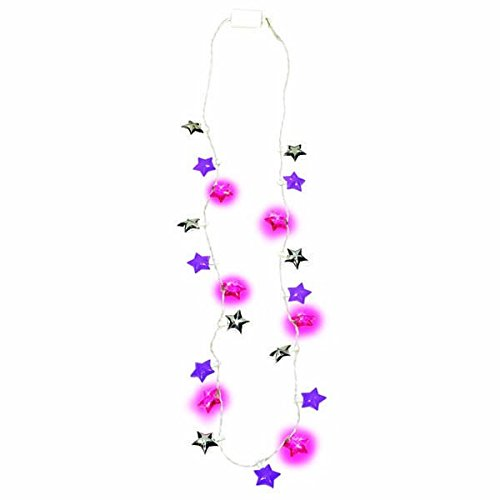 32 32 Amscan 319003 A Night to Remember Bachelorette Party Light-Up Star Necklace Accessory