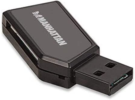 MANHATTAN STRATEGIC 101677 MH MINI USB 2.0 CARD READER