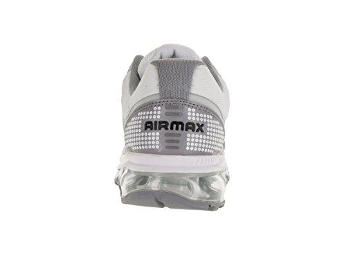 Nike Menns Air Max 2009 Løpesko Hvit