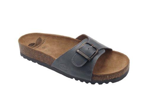 Dr. Scholls Akumal Sandalo In Pelle Colore Testa Di Moro Misura 45