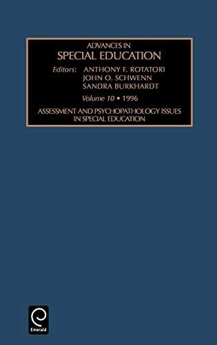 V10 Spec - ADV SPEC EDU V10 (Advances in Special Education)