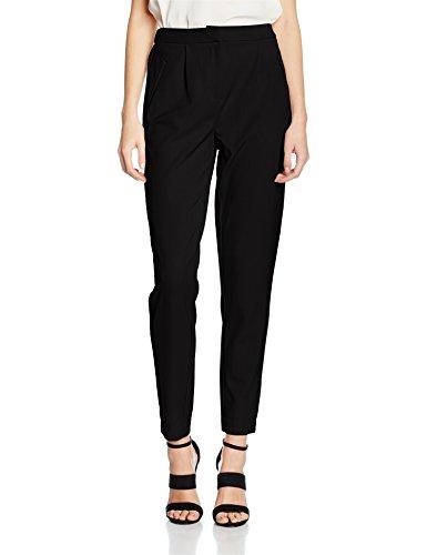 Vila Virena Pant-Noos, Pantalones para Mujer Negro (Black Black)