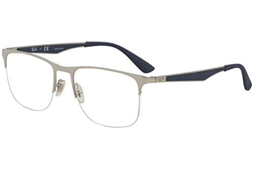 Eyeglasses Ray-Ban Optical RX 6362 2595 SHINY SILVER