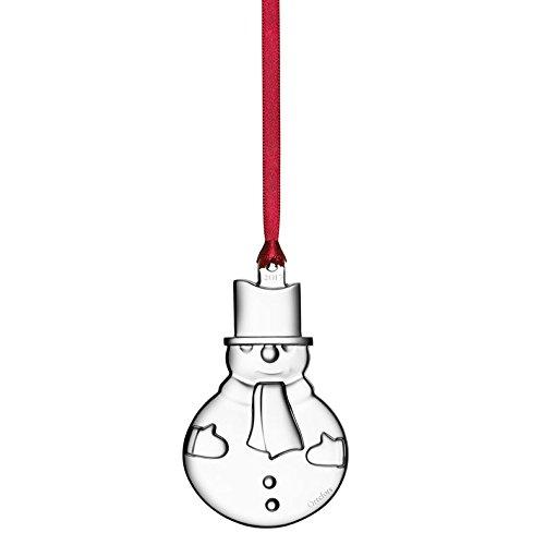 Orrefors 2017 Annual Ornament Snowman (Annual Ornament)