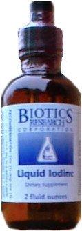 L'iode liquide 2 oz - Biotics