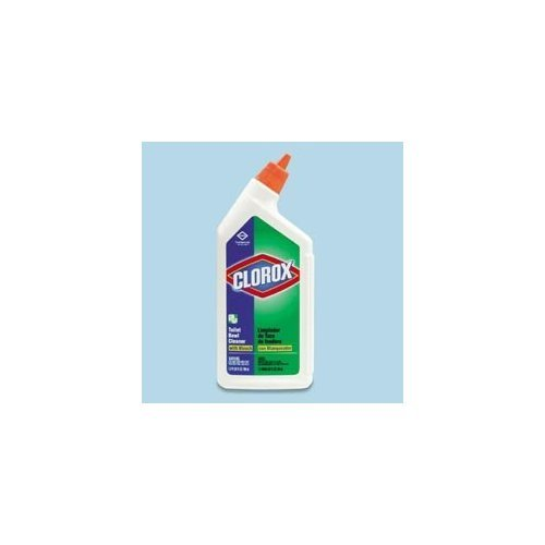 Clorox 00031CT Toilet Bowl Cleaner with Bleach, Fresh, 24oz Bottle (Case of 12)