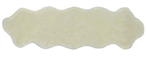 Starck 1 Floor - Nouvelle Legende Faux Fur Sheepskin Rug Soft and Stylish Luxury Duo 20 in. X 67 in. White