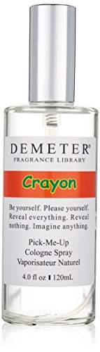 Demeter Unisex Cologne Spray, Crayon, 4 Ounce