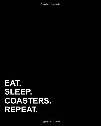 Read Online Eat Sleep Coasters Repeat: Blank Sheet Music - 12 Staves, Music Manuscript Book /Music Sheet Notebook /Blank Music Staff Paper (Volume 78) PDF