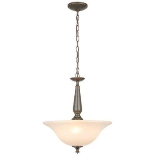 Commercial Electric 1000016258 3-Light Oil Rubbed Bronze