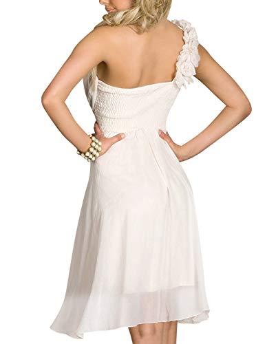Bess De Fleurs Chérie De Mariée Une Épaule Femmes Mini Robe De Soirée Retour À La Maison Bleu Royal