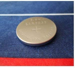New LIR2032 CR2032 Rechargeable LI-ION 3.6V Coin Button CMOS Battery