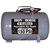 Iron Horse IHCT-05 5-Gallon 150 PSI Max Portable Air Tank