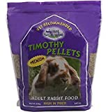 Small Animal Pkg Foods Rabbit - SMF RABBIT PELLETS 8 TIMOTHY