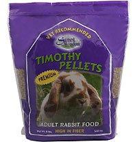 Small Animal Pkg Foods Rabbit - SMF RABBIT PELLETS 8 TIMOTHY by SWEET MEADOW FARM